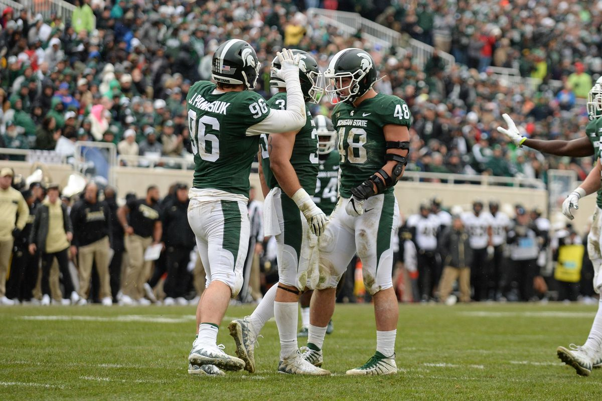 COLLEGE FOOTBALL: OCT 27 Purdue at Michigan State