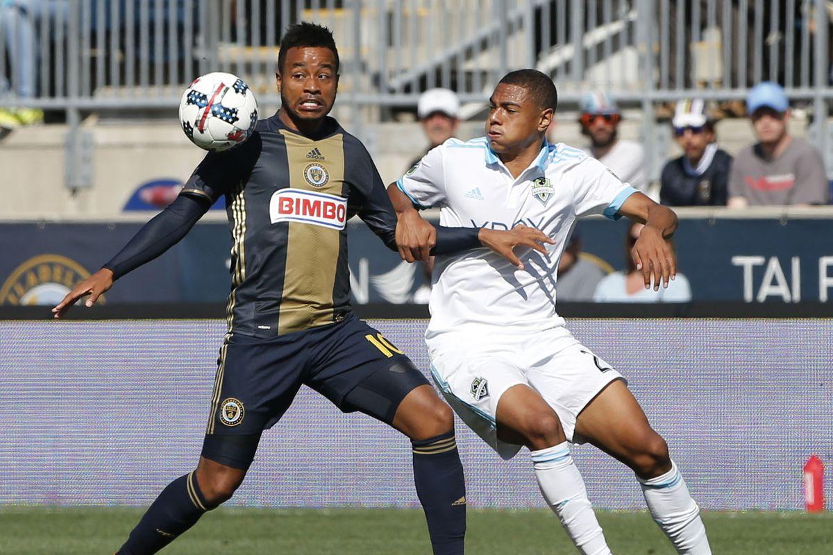 MLS: Seattle Sounders FC at Philadelphia Union