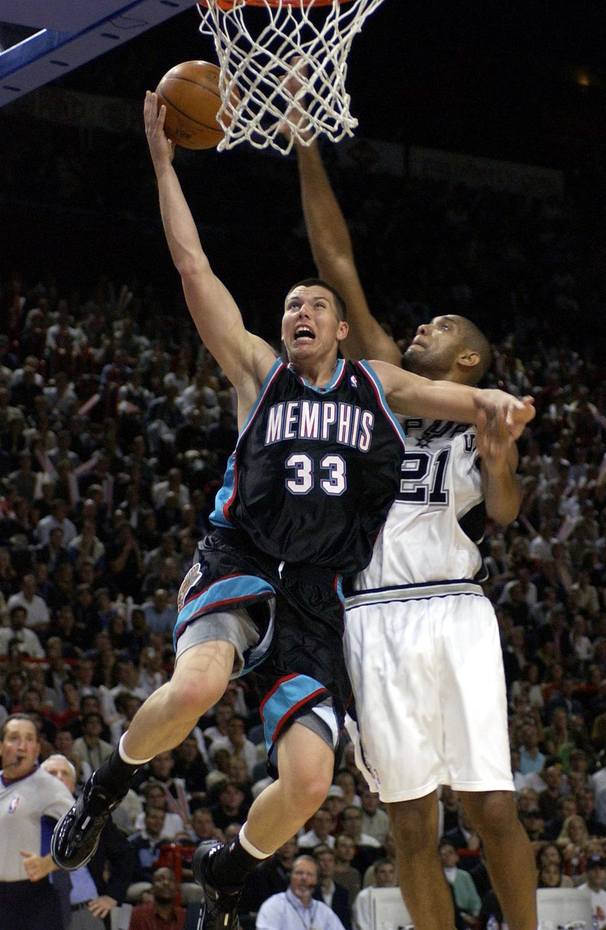 NBA Europe Games 2003 : San Antonio Spurs vs Memphis Grizzlies