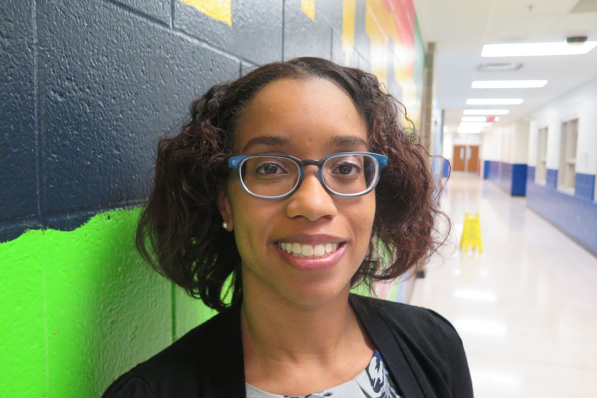 Shawnta Barnes is a literacy coach at School 63.