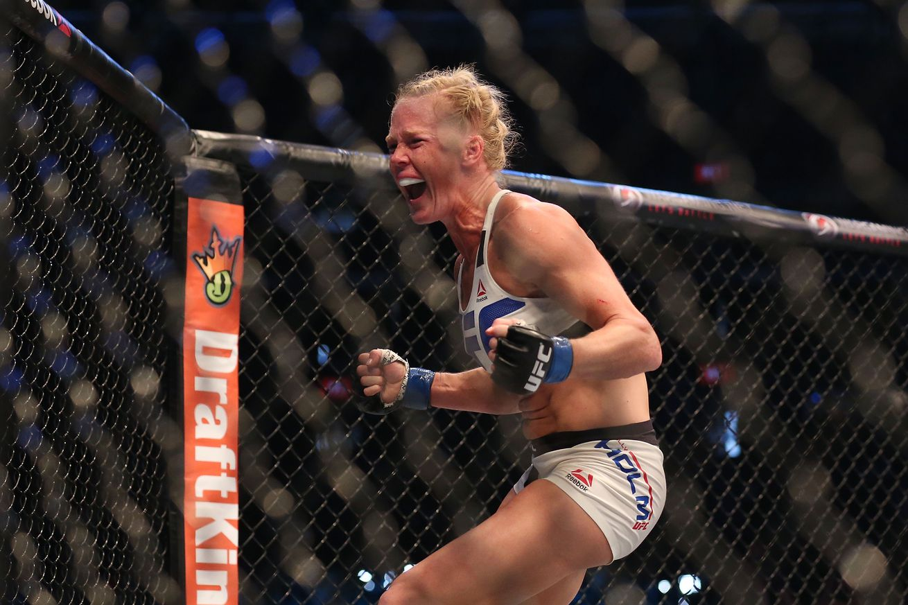 community news, UFC Fight Night 111 bonuses: Holly Holm's head kick knockout leads the way