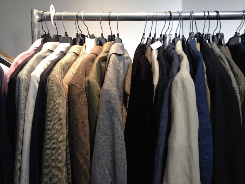 The J. Crew Men's Sample Sale: $25 Button-Ups, $200 Suits - Racked NY