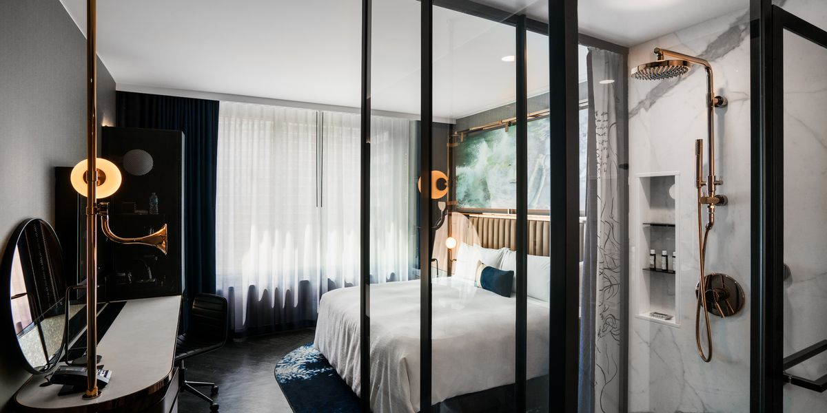 Inside Hotel Emc2 Streeterville S Newly Opened Art And Science Themed Hotel Curbed Chicago