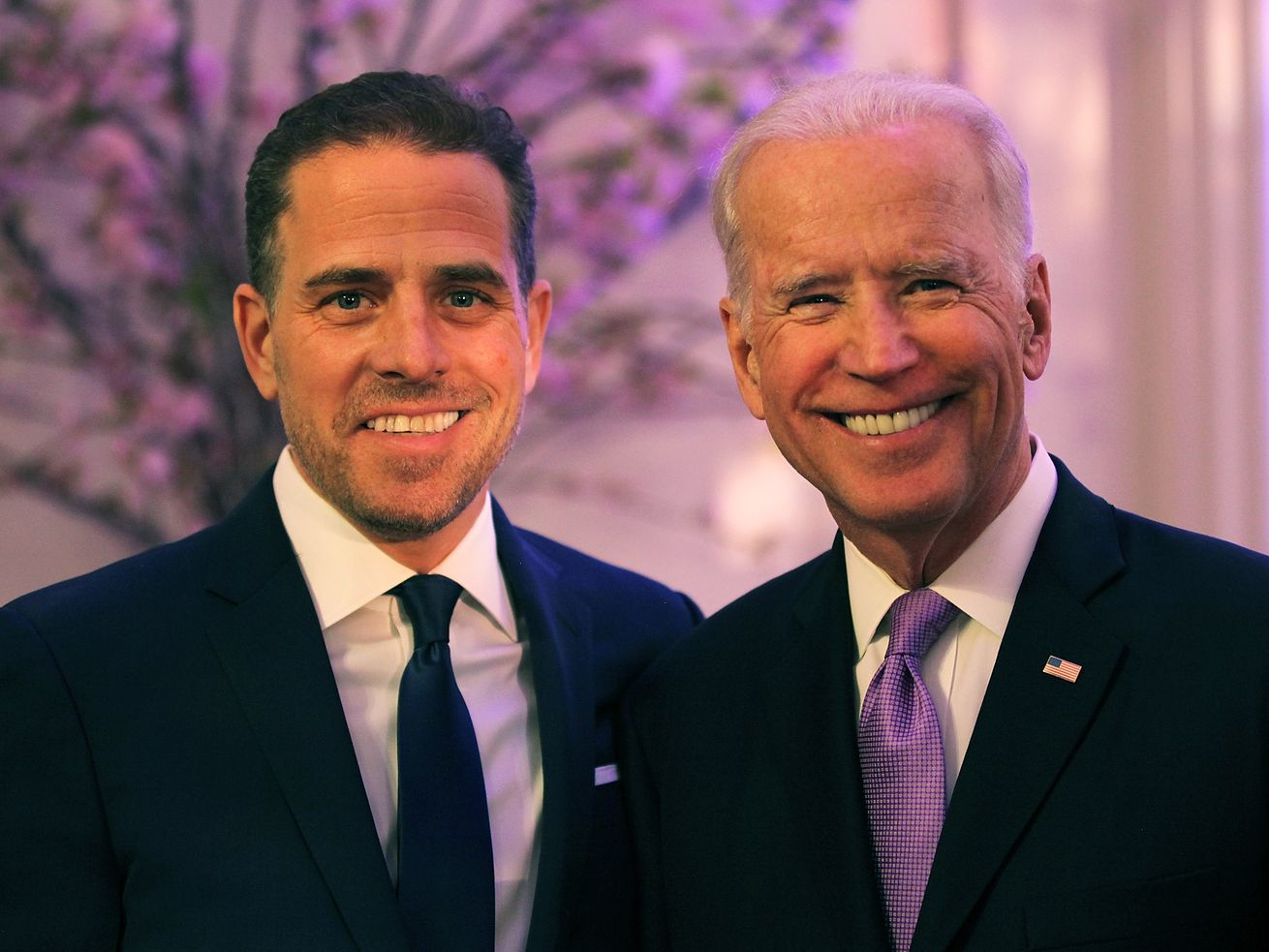 Hunter Biden and Joe Biden.