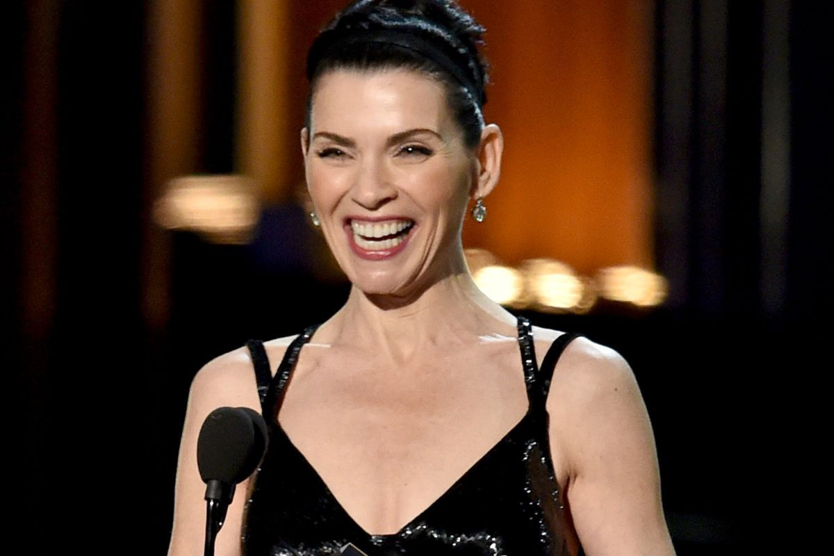 julianna margulies wins lead actress in a drama emmy for 'the good