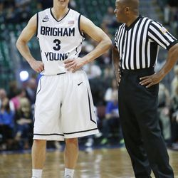 Former BYU basketball player Tyler Haws will soon marry his fiancÉe, former Cougar gymnast Summer Raymond. Haws and Raymond are one of many athletic couples over the years who met and married at Brigham Young University.