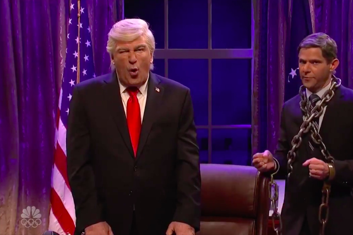 On 'SNL,' President Scrooge Was Visited by the Ghost of Indictments Present