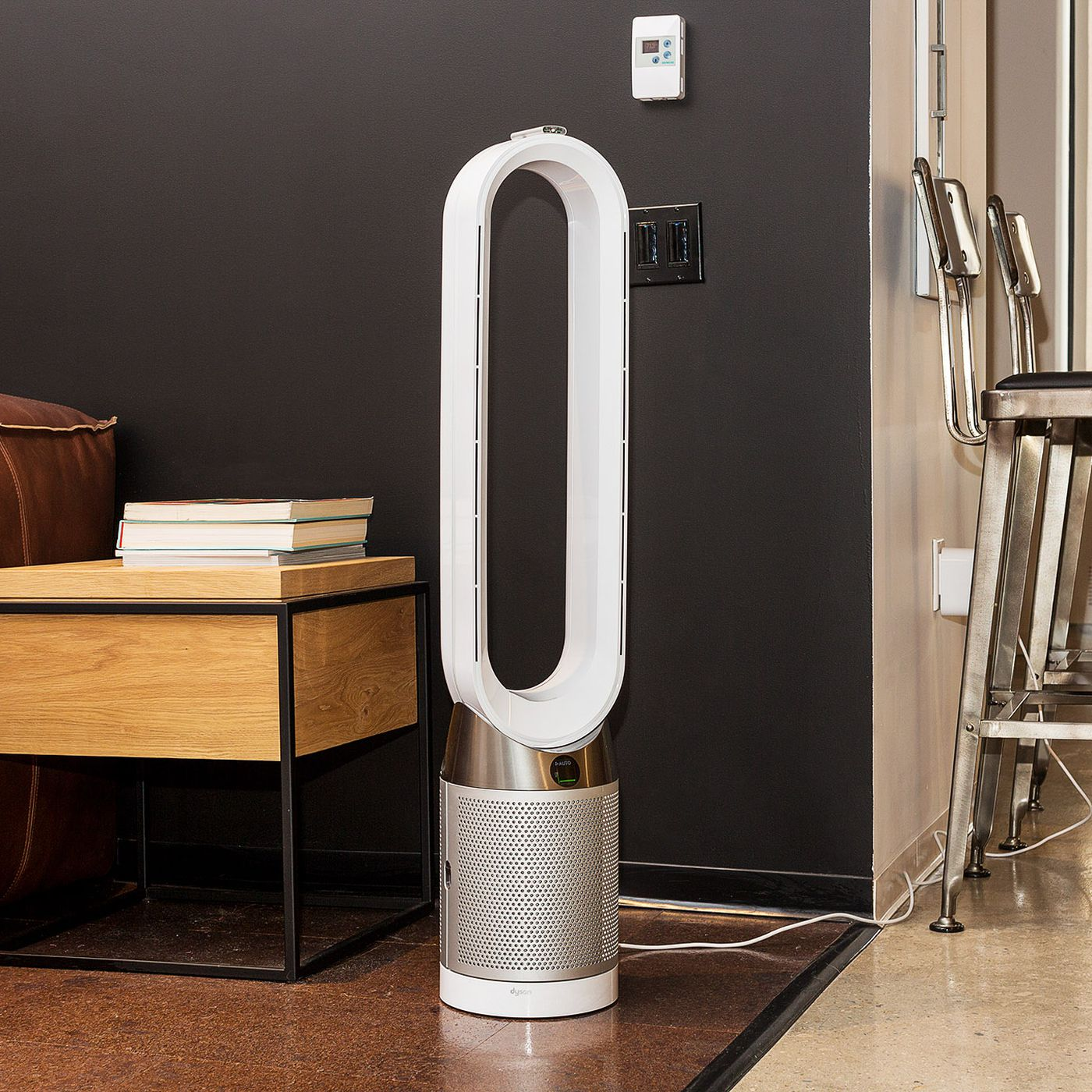 Dyson S New Air Purifier Has An Lcd Screen That Tells You What It S Cleaning The Verge