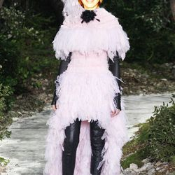 Emma Arnold of TresAwesome.com in Chanel Couture