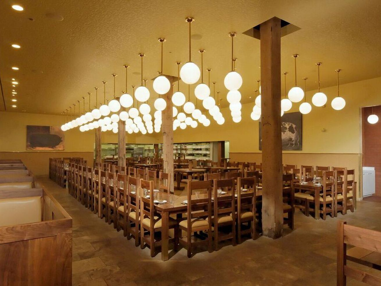 The Publican's dining room