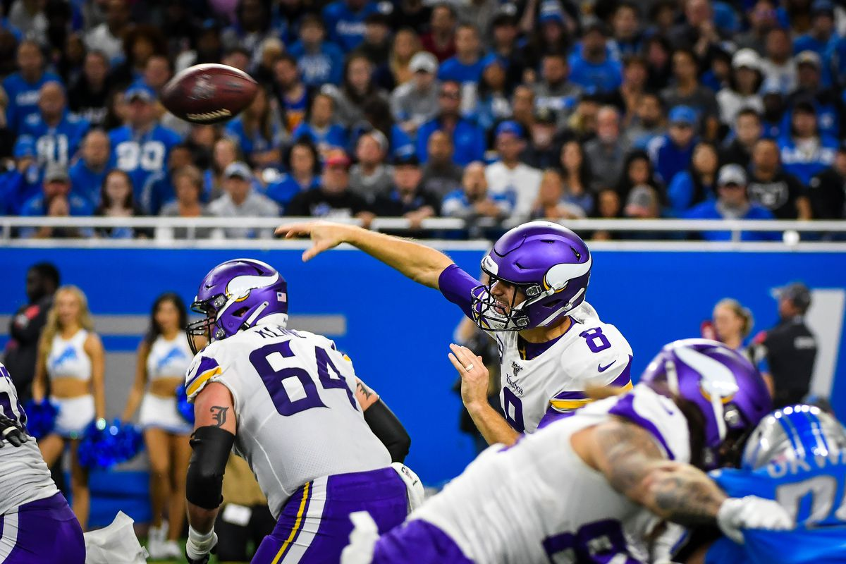 NFL: OCT 20 Vikings at Lions