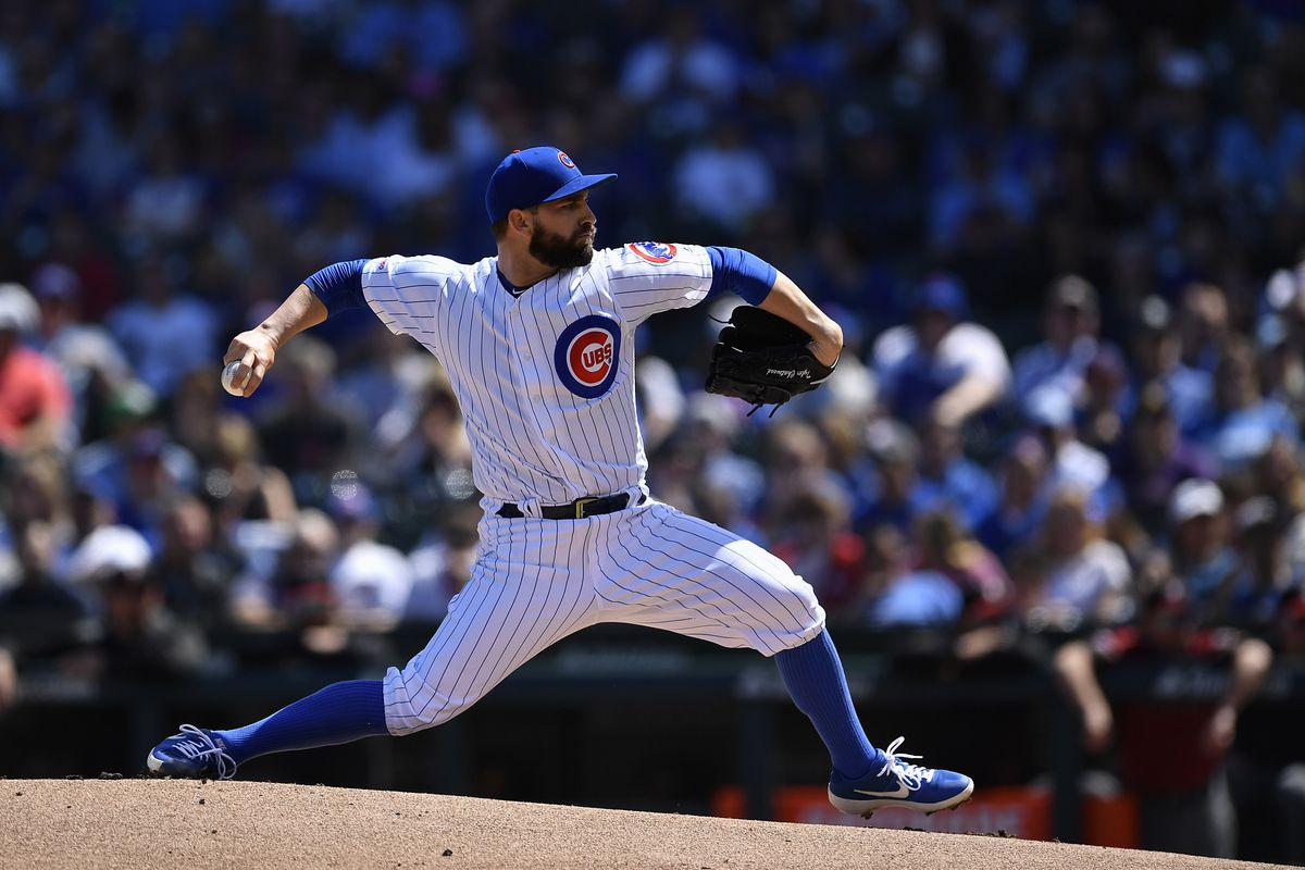 Tyler Chatwood to start in place of injured Kyle Hendricks for Cubs on Thursday vs. Mets
