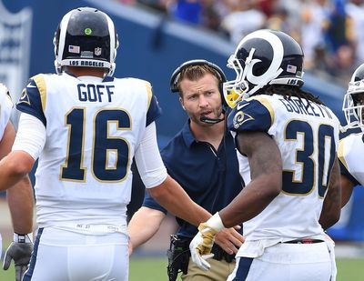 NFL: Washington Redskins at Los Angeles Rams