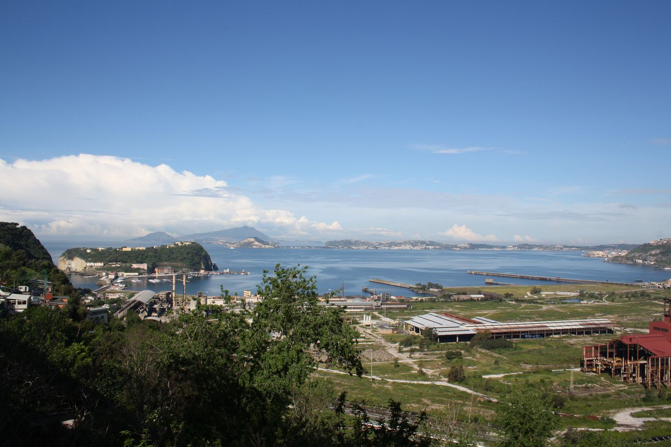 A view across the Campi Flegrei caldera.