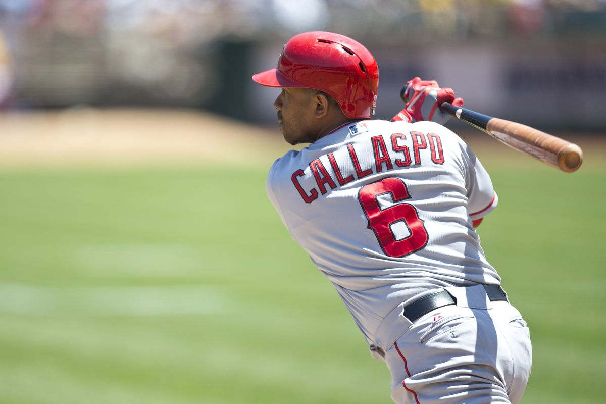 Mr. Callaspo, your odds of making the playoffs have increased greatly