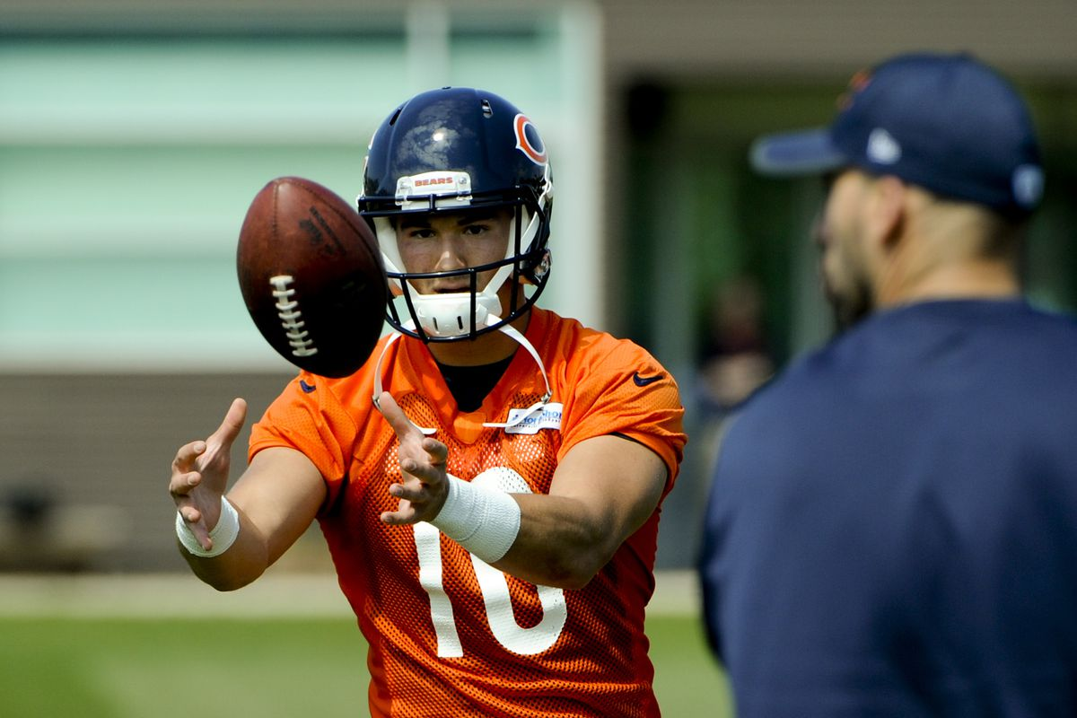 Mitch Trubisky taking 2nd-team reps following Mark Sanchez injury