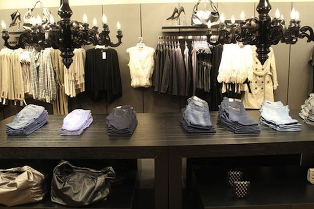 """We were expecting a little more color from MNG by Mango for JCP, but we'll take it! Image via <a href="""""""" http:="""""""">Racked National</a>"""