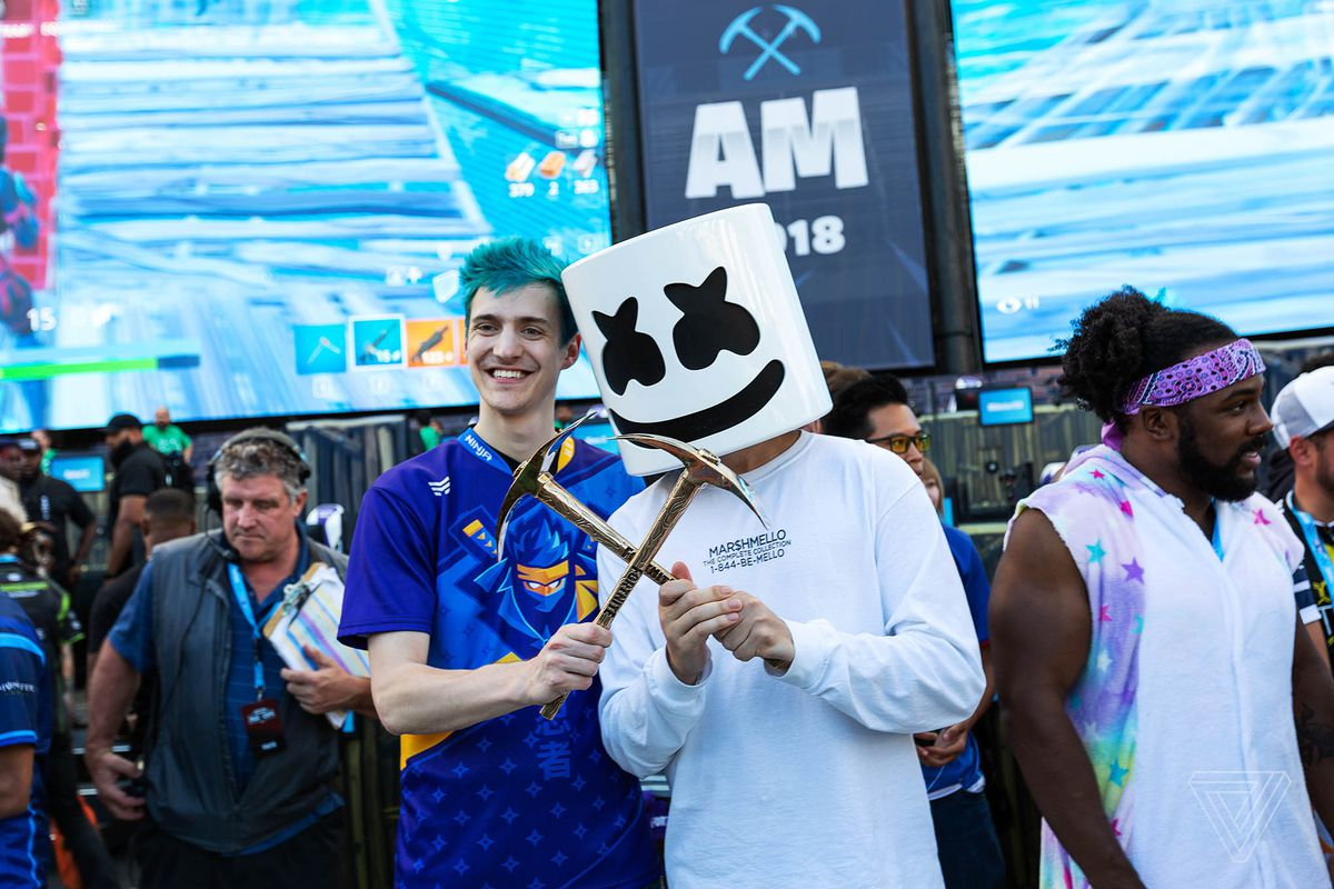 Fortnite star Ninja and DJ Marshmello are headlining new