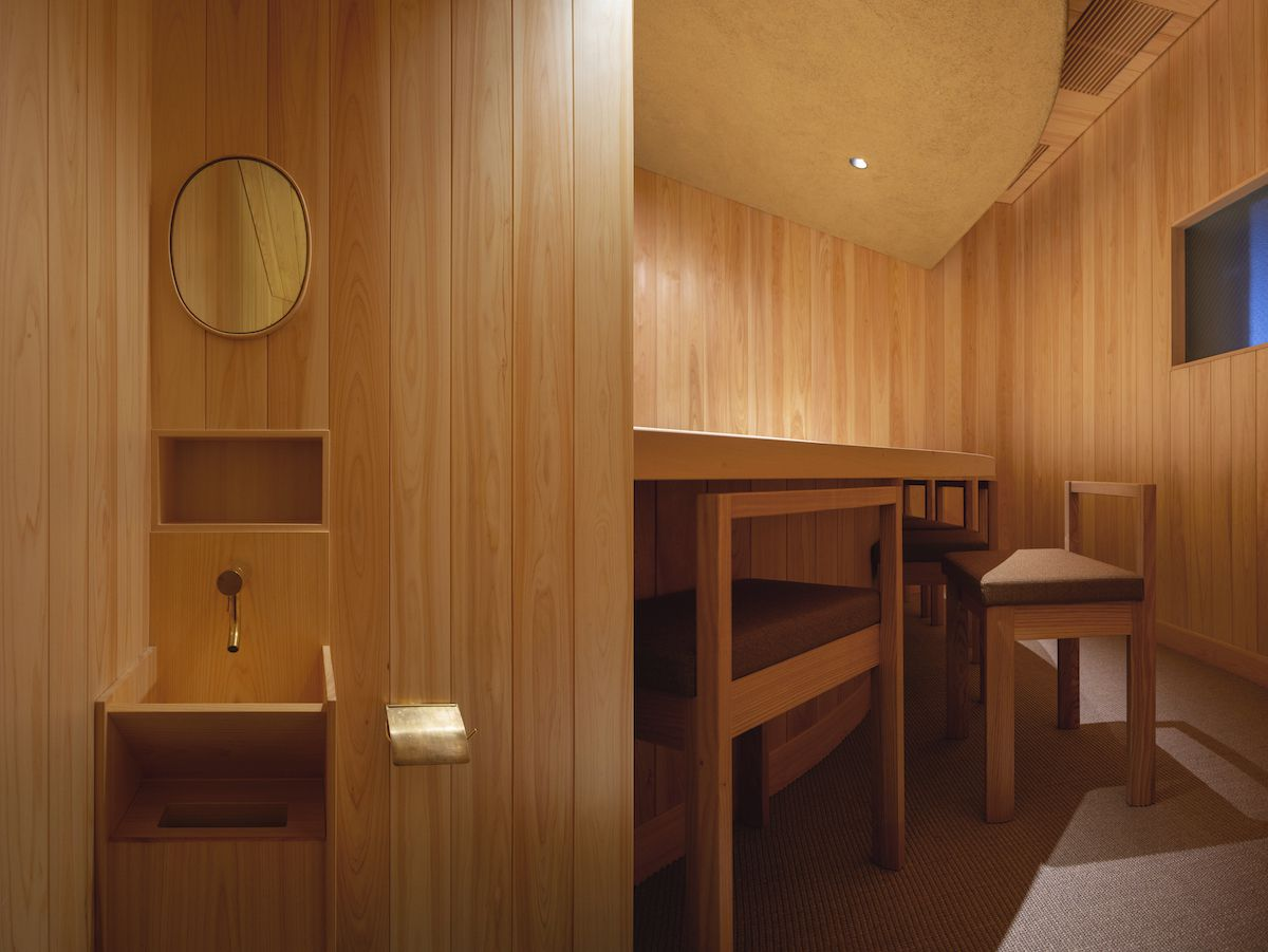 Sushi Restaurant In Japan Makes Gorgeous Use Of Wood Curbed