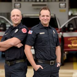 Identical twin brothers Michael Lucas and Brian Marino survived the 1995 Fox River Grove bus/train collision that took the lives of 7 fellow students. The brothers are now Crystal Lake Firefighter/Paramedics.