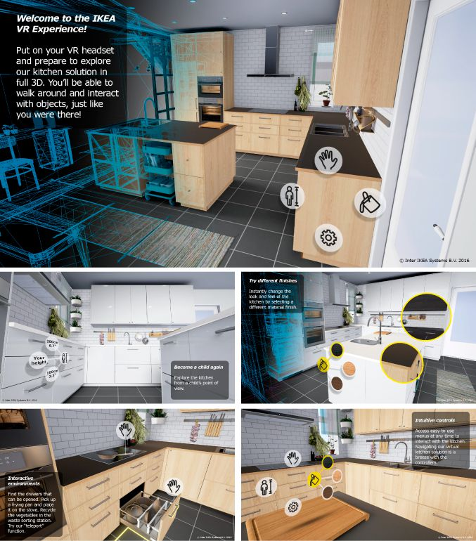 Ikea turns kitchen remodelling into an HTC Vive VR game - The Verge