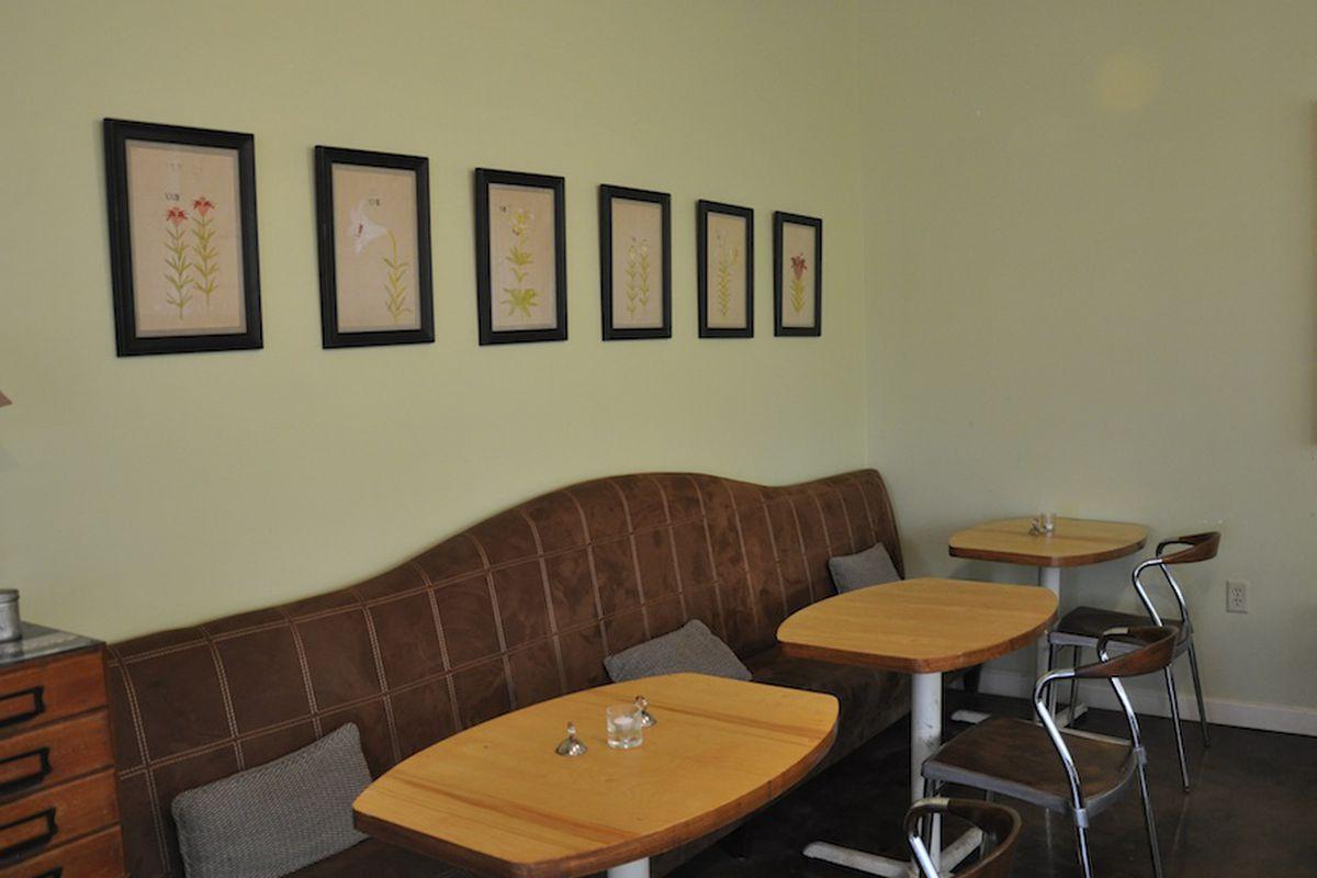 Inside Kraftsmen Cafe in the Heights.