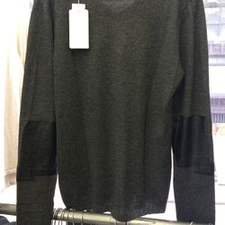 Cashmere sweater, size M, $144 (was $265)