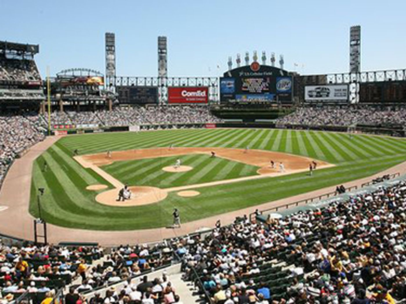 Where To Eat At US Cellular Field Home Of The Chicago White Sox - Us cellular community park map