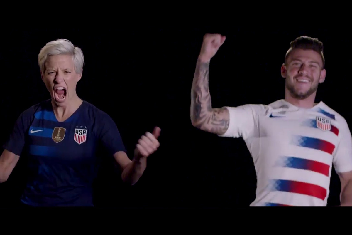 new product beb09 8c3b1 A closer look at the new USA kits - Stars and Stripes FC