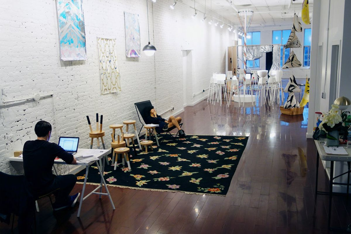"""Inside the showroom, via <a href=""""http://www.core77.com/blog/exclusive/colony_on_canal_a_showroom_for_designers_by_designers_26984.asp"""">Core77</a>"""