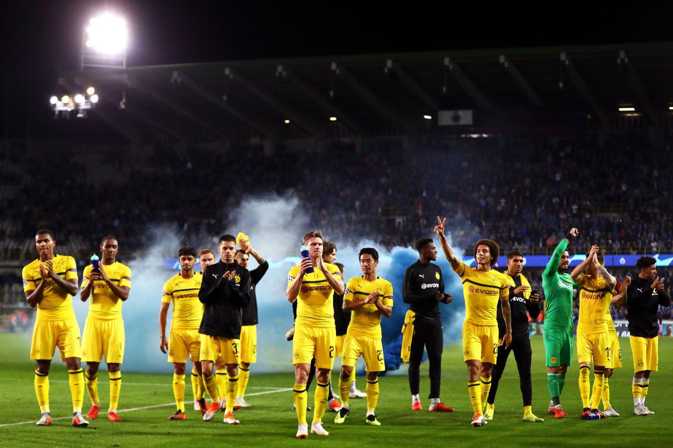 Match Ratings: Borussia Dortmund 1:0 Club Brugge
