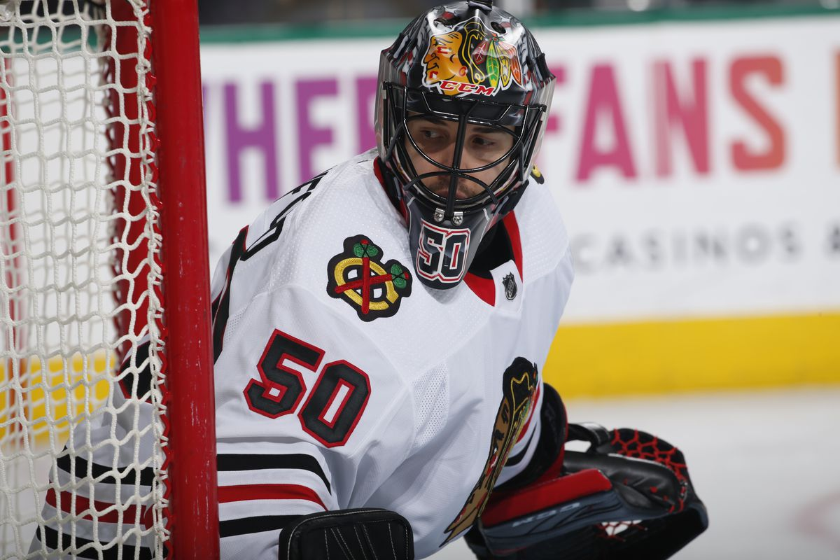 """There are a lot of things that we don t really know about the Corey  Crawford situation. It s been reported that he s potentially out for the  season with """" ... 01f215ae877"""