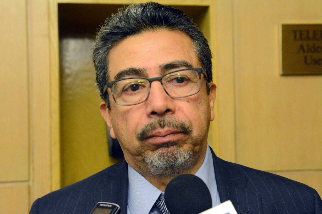 Ald. Danny Solis wasn't happy with what he was hearing earlier this week from representatives of Heartland Alliance. | Sun-Times file photo