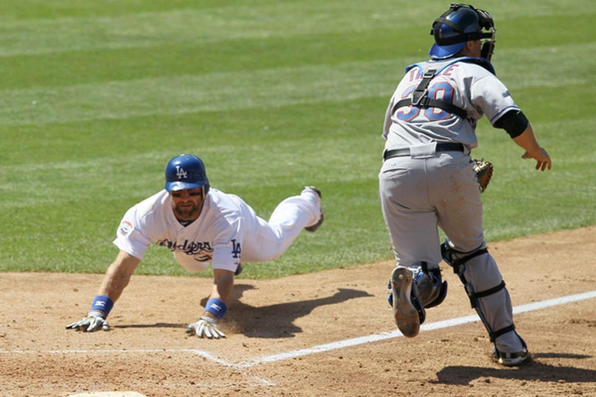 Home plate has seemed so far away for the Dodgers this season.