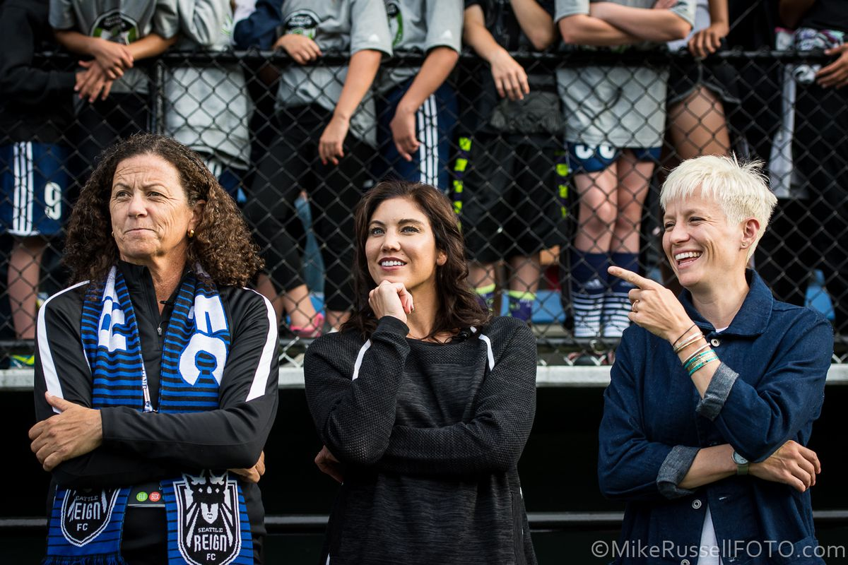 Hope Solo Talks About Her Future With Soccer Sounder At Heart