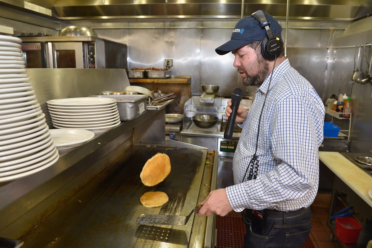 SiriusXM Broadcasts New Hampshire Primary Coverage Live From Iconic Red Arrow Diner - Day 2