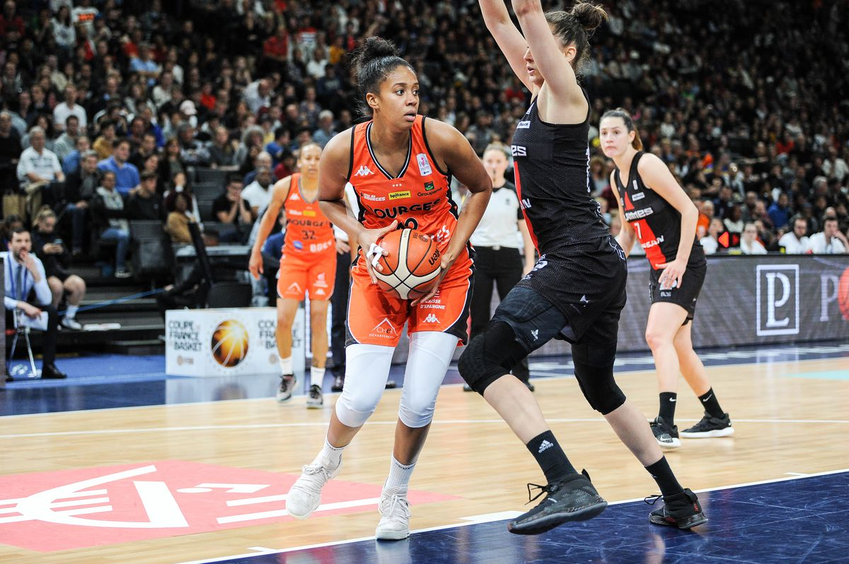 Tango Bourges Basket v Flammes Carolo Basket Ardennes Charleville Mezieres - Women's French Cup Final