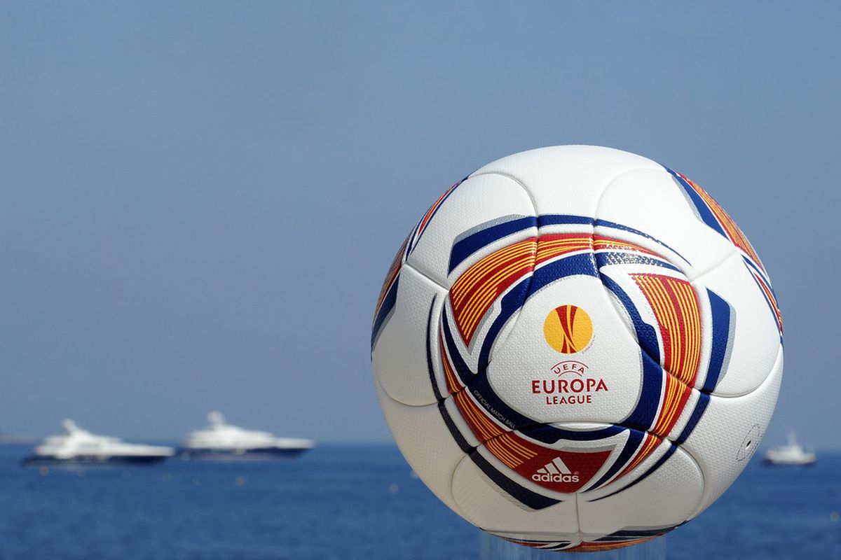 MONACO - AUGUST 25:  The official launch of the adidas UEFA Europa League matchball at the Grimaldi Forum on August 25, 2011 in Monaco.  (Photo by Chris Brunskill/Getty Images for adidas)