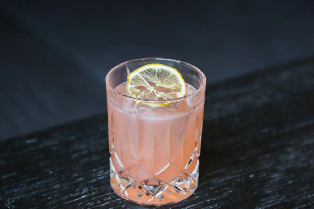 Black Barn's Strawberry Field cocktail.