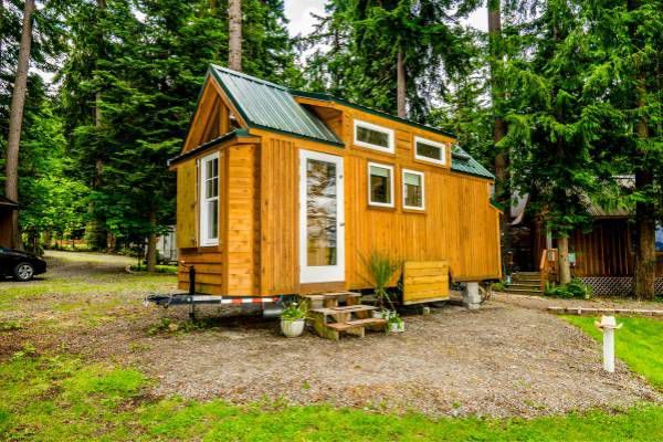 A Tiny House On Wheels Is Ready To Roll In La Conner