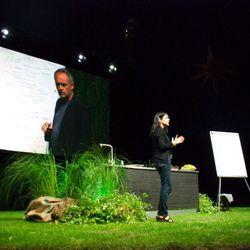 Ferran Adrià and Lisa Abend