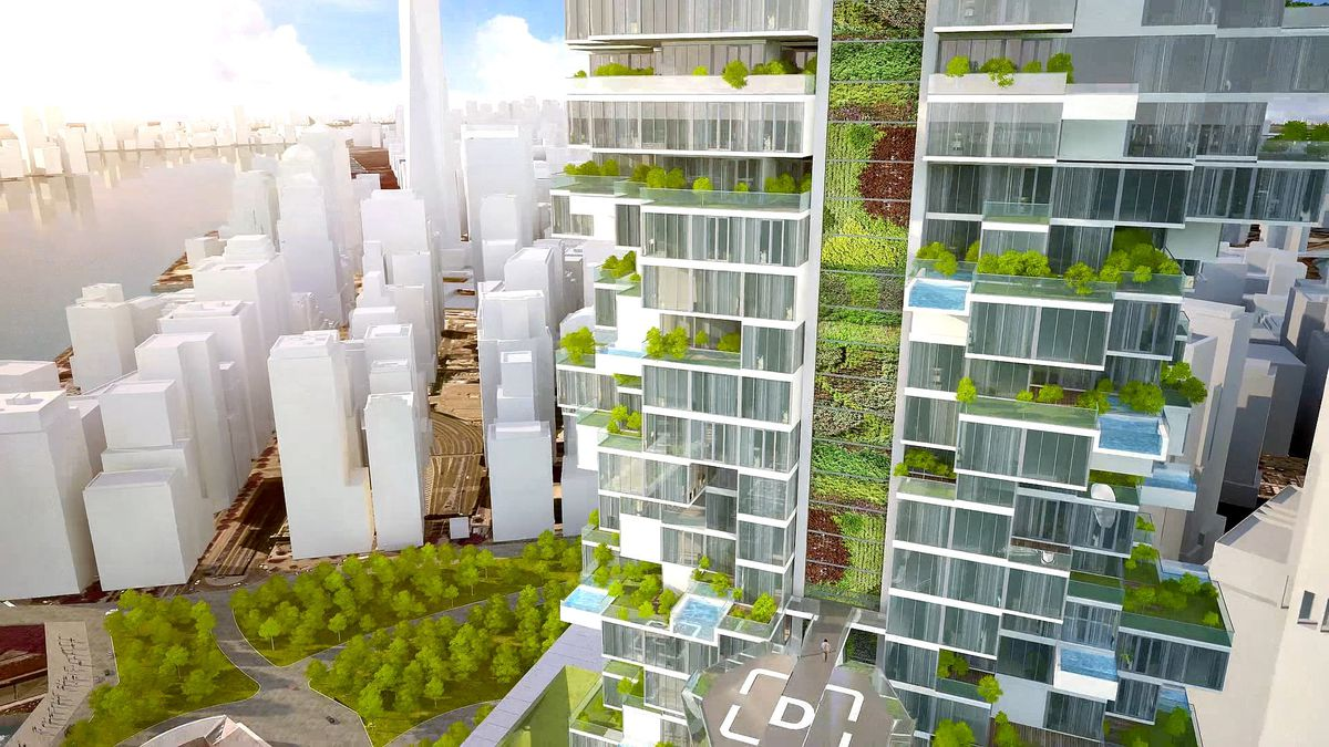 Are These Manhattan Towers The Future Of Sustainable Design Curbed Ny