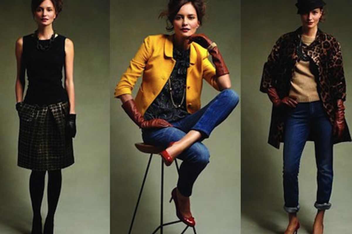 """Younger models don't automatically make your clothes younger. Image via <a href=""""http://nymag.com/daily/fashion/2010/04/can_talbots_get_hip.html"""">The Cut</a>."""