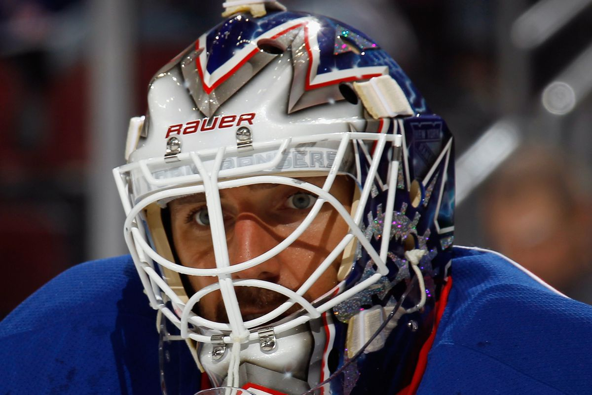 Henrik Lundqvist was on top of his game against the Hurricanes