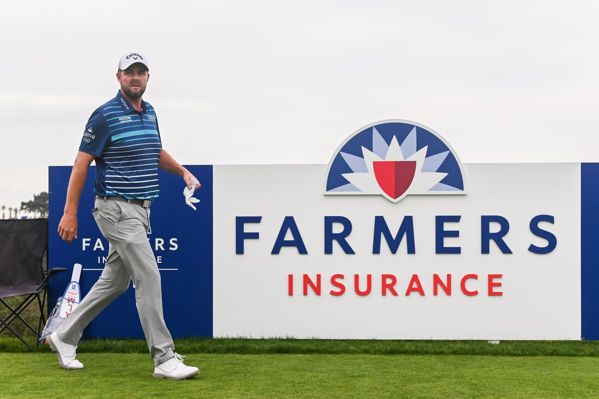 Marc Leishman of Australia walks to the 17th tee box during the final round of the Farmers Insurance Open at Torrey Pines South on January 26, 2020 in San Diego, California.