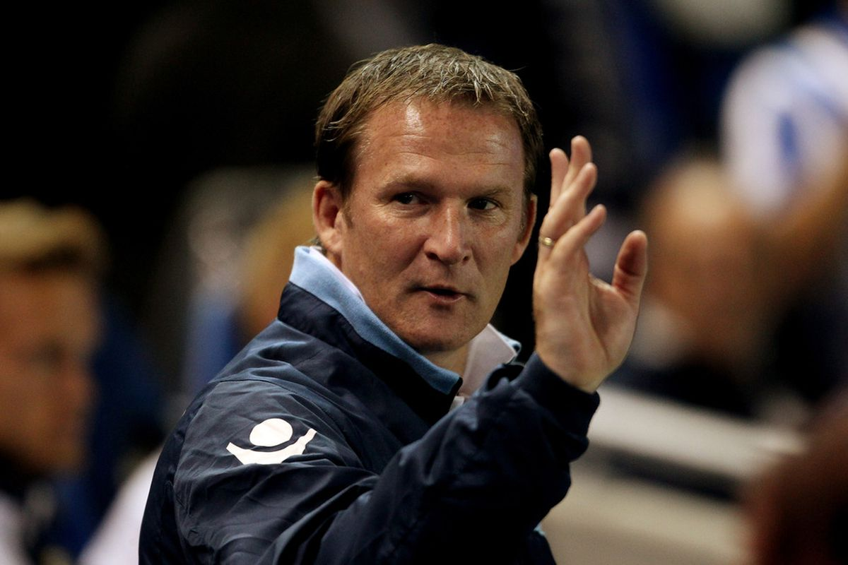 Simon Grayson prepares to say his goodbyes. Defeat at Oakwell last year saw the pressure begin.