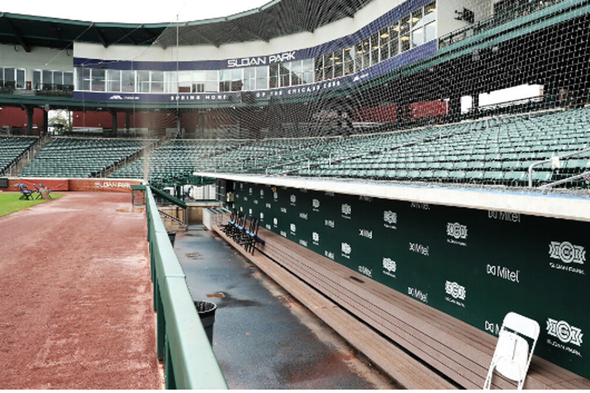 Sloan Park, the Cubs' spring ballpark in Mesa, would be among the fields pressed into service if MLB can start play next month with every team in Arizona.