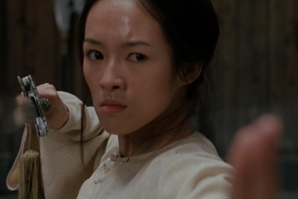 Ziyi Zhang in Crouching Tiger, Hidden Dragon.