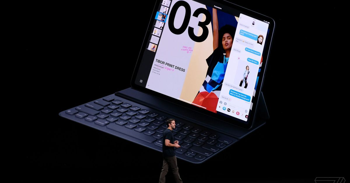 Apple reportedly releasing an iPad keyboard with a trackpad later this year