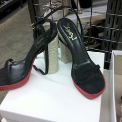 The red-soled YSLs Christian Louboutin doesn't want you to have! $229.